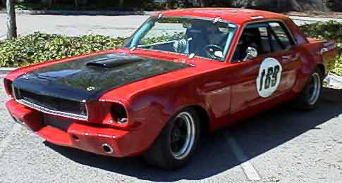65 Mustang Coupe Track Car